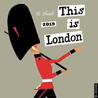 【现货】英文原版 这就是伦敦2019年挂历 THIS IS米先生的世界旅游绘本系列 This Is London 20