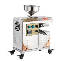 家用花生榨油机不锈钢商用中型小型全自动油坊香油机冷热炸油机
