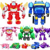 开心超人儿童玩具联盟正义变形机器人套装花心粗心