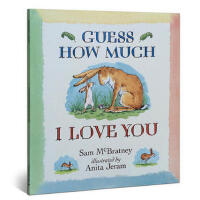 【英文原版】Guess How Much I Love You 猜猜我有多爱你 英文平装 进口原版 亲子绘本 畅销儿童