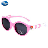 迪士尼儿童太阳镜女童 可爱卡通米妮偏光太阳眼镜女孩墨镜蛤蟆镜