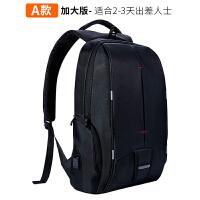 神舟战神Z6Z7双肩电脑包Z8K650D笔记本双肩包15.6/寸旅行背包 A款-带防震气囊 15.6英寸
