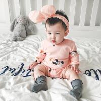 2018050604361婴童装婴儿连体衣服男宝宝0岁8个月2春季4春装3潮