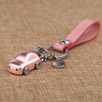时尚创意男女钥匙扣潮流个性情侣钥匙链包包挂件钥匙圈LED灯惊喜小礼品 粉色 均码