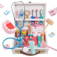 仿真小�t生玩具套�b男孩工具�t��箱打��o士女孩�和��^家家��\器
