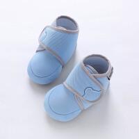 0-1岁婴儿鞋棉布单鞋男女宝宝软底学步幼鞋春秋