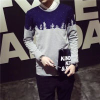 秋冬新款男士潮流针织衫韩版修身男毛线衣线衣日式羊毛衫外套