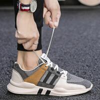 时尚新款夏季潮流男鞋百搭运动休闲板鞋男士布鞋透气网鞋跑步潮鞋