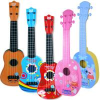 小猪佩奇玩具尤克里里佩琪儿童吉他可弹奏初学者1-3岁男女孩j2r