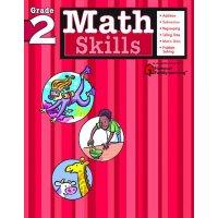 【现货】英文原版 哈考特 数学技能:2年级 Math Skills: Grade 2 (Flash Kids) 练习册