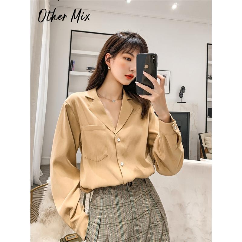 七格格衬衫女设计感小众韩版衬衣2019新款冬季长袖黑色雪纺上衣潮
