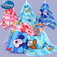 迪士尼Disney米妮米奇卡通纱布童巾 纯棉儿童毛巾 宝宝童巾 挂式