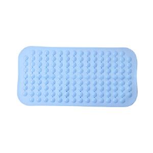 宝优妮浴室防滑垫厕所防水垫子洗澡间淋浴吸盘按摩脚垫卫生间地垫 71x35.5cm
