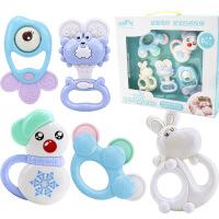 【支持礼品卡】新生婴儿玩具安全可水煮牙胶手摇铃牙胶 g5f