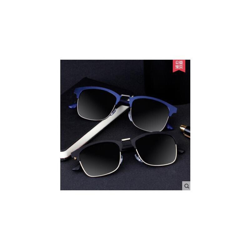 韩版潮流复古眼镜男士太阳镜女偏光镜近视墨镜驾驶眼睛蛤蟆镜 品质保证,支持货到付款 ,售后无忧