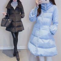 200斤胖MM棉衣女中长款韩版宽松加厚保暖大码女装外套潮XV