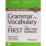 【预订】Grammar and Vocabulary for First and First for Schools