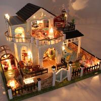 儿童过家家女生创意生日礼物花好月圆女孩玩具娃娃屋