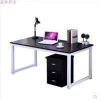 简约现代台式电脑桌会议桌子家用书桌简易双人办公桌笔记本桌