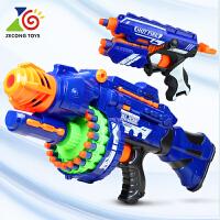 电动连发软弹枪儿童玩具枪发射器男孩礼物