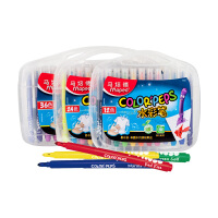 maped马培德水彩笔 儿童安全可水洗彩色笔套装24色36色幼儿宝宝画画工具美术绘画学生用画笔
