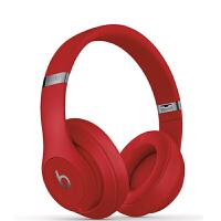 Beats studio3 wireless头戴式耳机 红色