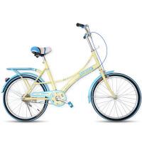 22寸女士复古韩版轻便通勤成人自行车公路车公主淑女单速女式单车