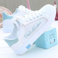 小白鞋女学生百搭新款韩版平底夏季透气板鞋薄款休闲运动鞋子