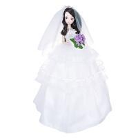 手工可儿娃娃花样新娘婚庆礼赠关节体9096女孩礼物不含花