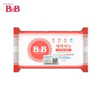 【高纯度皂粉植物复合成分】韩国B&B/保宁婴儿洗衣皂200g*3块 洋槐花味