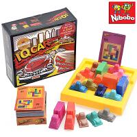 儿童益智力玩具赛车突围二代汽车华容道