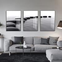 客厅装饰画沙发背景墙画现代简约大气轻奢三联画壁画北欧风格挂画