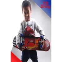 儿童滑板车 四轮小朋友滑板 双面图案60CM四轮