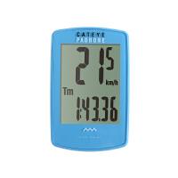 自行车无线码表中英文大屏骑行码表里程表PADRONE 蓝色 英文版