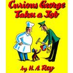 Curious George Takes a Job 好奇猴乔治找工作 ISBN 9780395186497