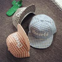 儿童平沿棒球帽男童帽子春夏小孩宝宝帽子中大童女韩版潮嘻哈帽秋