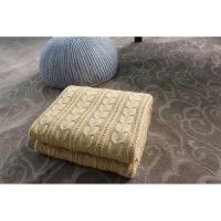 家纺2017秋冬季新款棉被子美式毛毯季加厚加绒羊毛羊绒毯办公室空调盖毯宝宝包裹毯 130x160cm