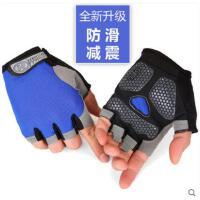精致减震防滑半指手套健身手套男女运动训练器械哑铃锻炼骑行户外登山耐磨