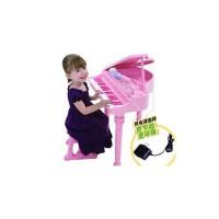 英纷幼儿童小孩钢琴玩具学习早教电子琴多功能音乐琴麦克风2045