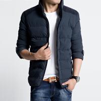 冬季新款男棉服外套韩版修身立领加厚棉衣男士大码短款男装潮