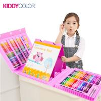 凯蒂卡乐 儿童绘画画笔套装画架美术文具 女孩生日礼物水彩笔蜡笔