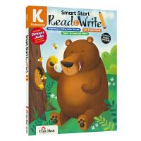 阅读和写作 幼儿园 Evan-Moor Smart Start Read & Write 美国加州教辅 聪慧启蒙系列英