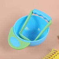 宝宝辅食碗研磨器研磨碗碾磨碗婴儿辅食工具剪刀儿童手动水果泥机