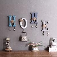 风创意木质挂衣钩门口玄关钥匙挂钩墙壁衣帽架壁挂墙上装饰
