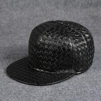 pu皮帽男士户外运动嘻哈棒球帽青年百搭女韩版潮防晒遮阳帽鸭舌帽