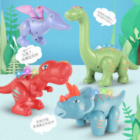 蛋宝乐磁力拼装恐龙玩具霸王龙翼龙仿真动物男孩儿童礼物3岁模型6