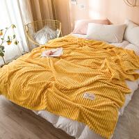 珊瑚绒毛毯冬季加厚保暖床单人宿舍学生午睡毛巾小被子法兰绒毯子