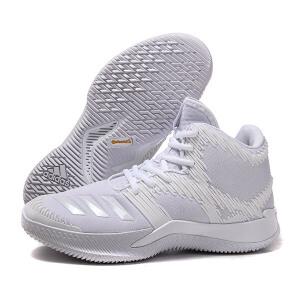 adidas阿迪达斯男鞋篮球鞋团队实战2018运动鞋BB8186
