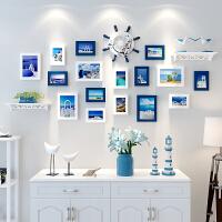 【品牌热卖】创意相框挂墙组合连体挂7寸简约相片框摆台画框洗照片加像框相架 一套组合