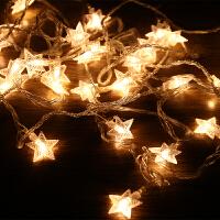 圣诞树装饰灯串满天星霓虹灯彩灯圣诞节装饰LED小彩灯闪灯